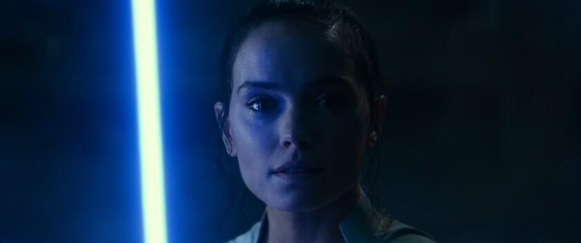 "Rey in ""Star Wars: The Rise of Skywalker"""