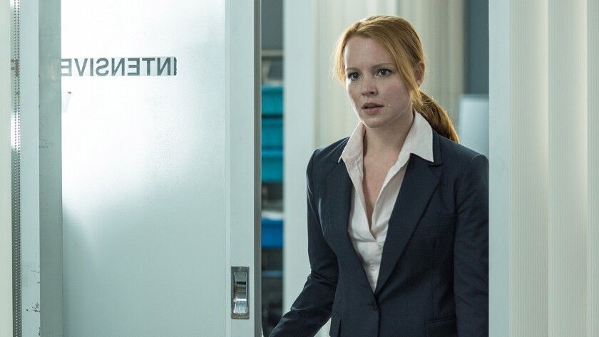"""Lauren Ambrose guest stars in a new episode of the drama """"The X-Files"""" on Fox."""