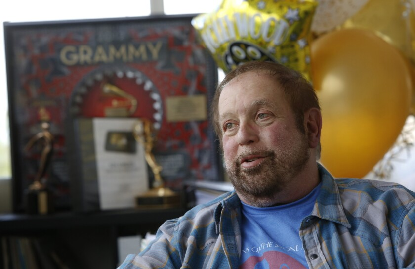 """I'm still competitive. I think about ... what we could do better, and it drives me to work harder,"" Ken Ehrlich says of the Grammys telecast. ""It energizes me."""