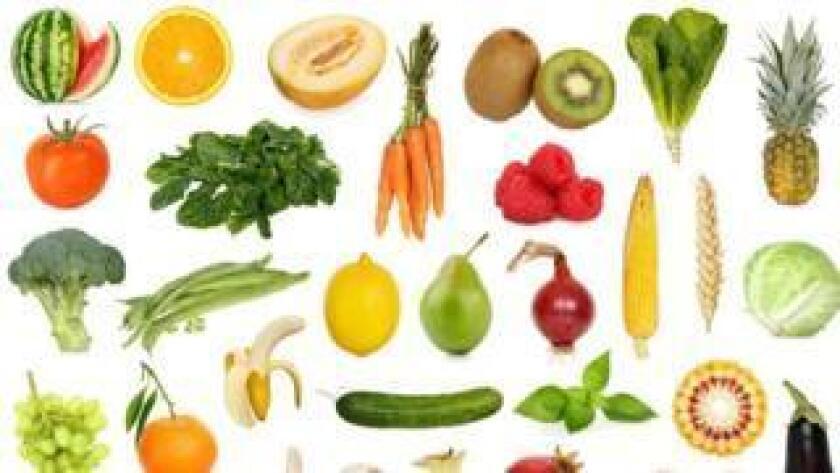 Los expertos recomiendan consumir un mínimo de cinco raciones de frutas y verduras al día.