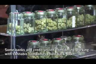 Trump administration's crackdown on pot sales could push banks out of cannabis industry