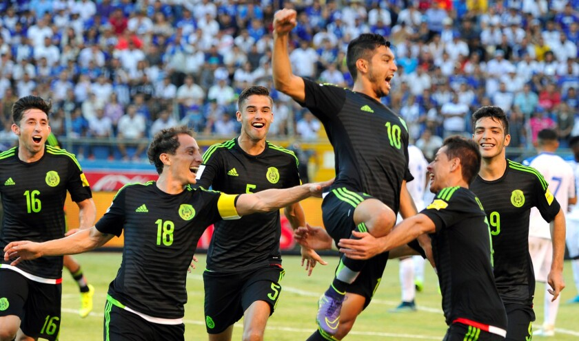 La selección mexicana llega con racha positiva...