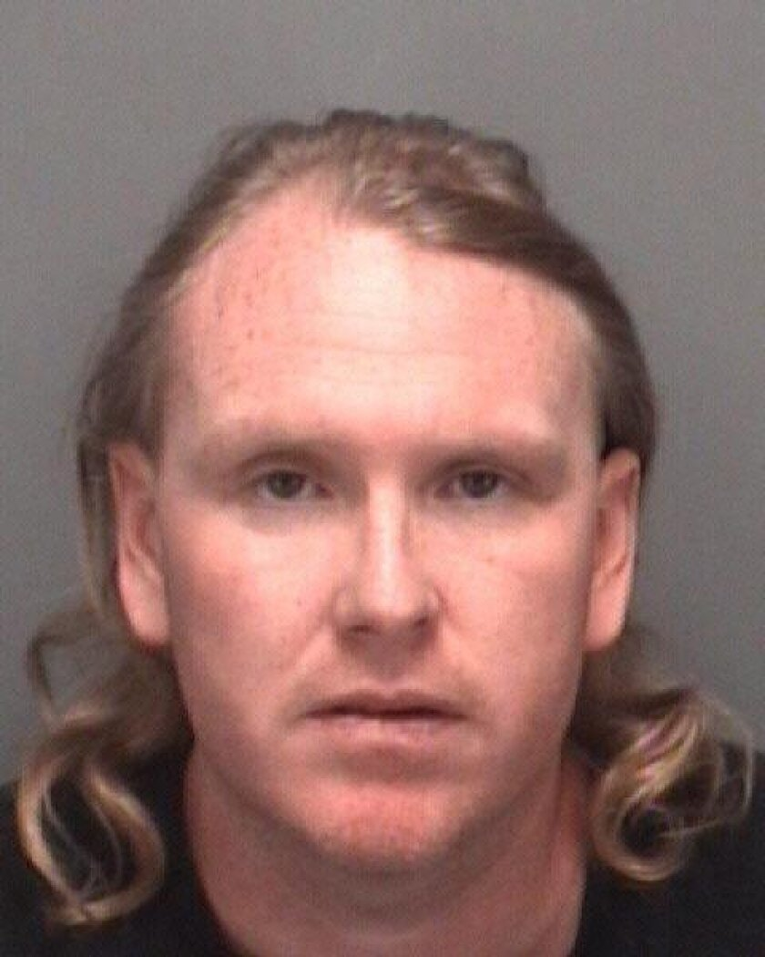 Shawn Mitchell Longley (DOB 6/7/1975), one of the homeless men who are recent victims of deadly assaults in San Diego. Courtesy Pinellas County Sheriff's Office.