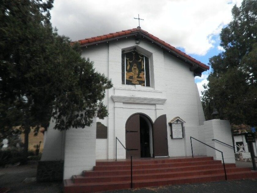 Mission Santa Ysabel was founded by Father Fernando Martin