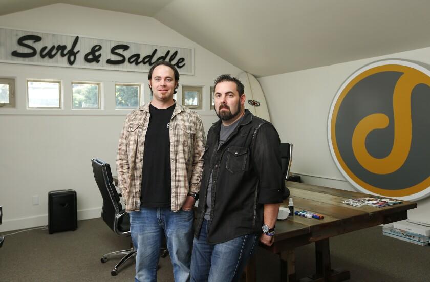 Dreamtsoft founders Bow Ruggeri and Jerrod Bennett