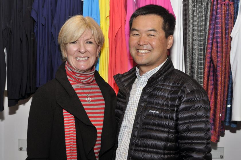 Janet Lawless Christ, Chelsea's Light Foundation Executive Director Tom Rhee