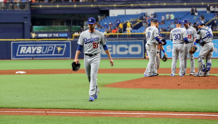 Los Angeles Dodgers v Tampa Bay Rays