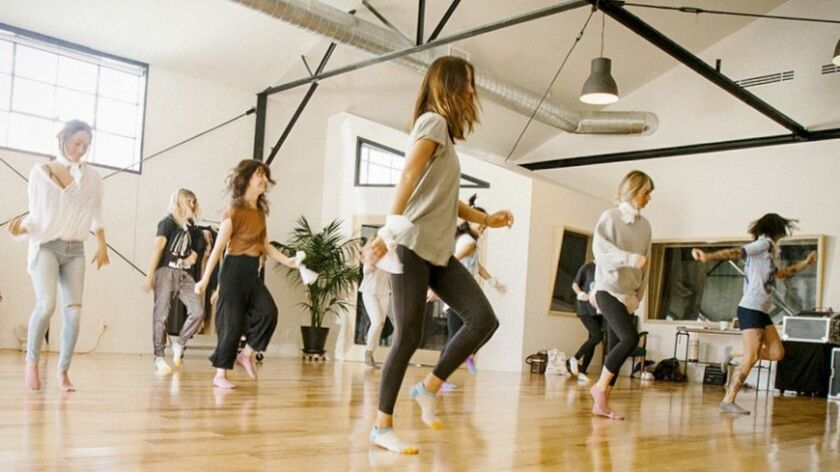 Freestyle dance is at the heart of a two-hour movement workshop in Frogtown. Credit - Moved LA