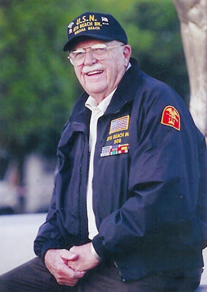 Robert Watson of San Marcos, who took part in the D-Day invasion of Europe, will be the guest of honor at the Rancho Bernardo Historical Society's Memorial Day Pancake Festival today.