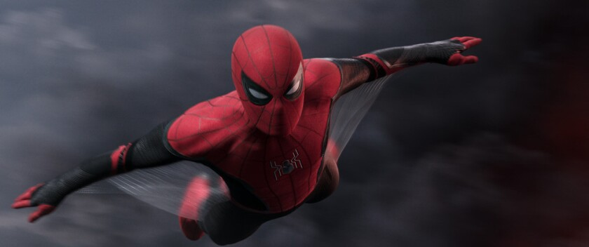 """Spider-Man in """"Far From Home."""""""