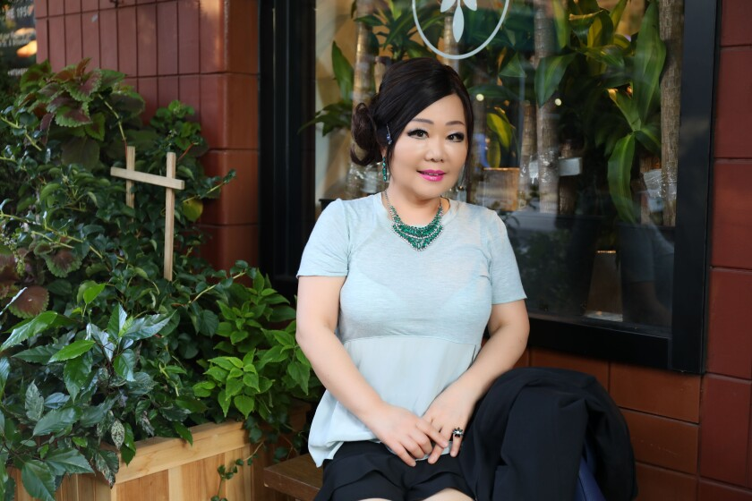 Emily Kim, a.k.a. Maangchi.