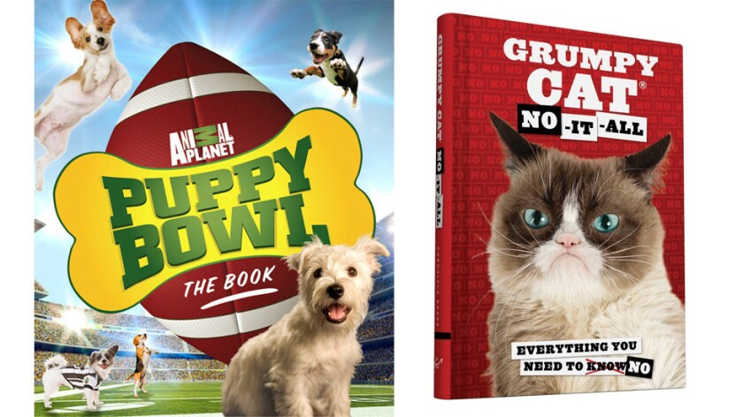 """""""Puppy Bowl: the Book"""" and """"Grumpy Cat: No-It-All"""""""