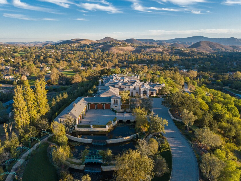 Thomas and Alba Tull's Thousand Oaks compound | Hot Property