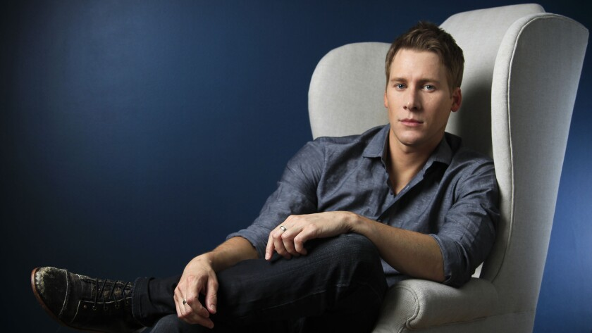 Dustin Lance Black at home in 2012.
