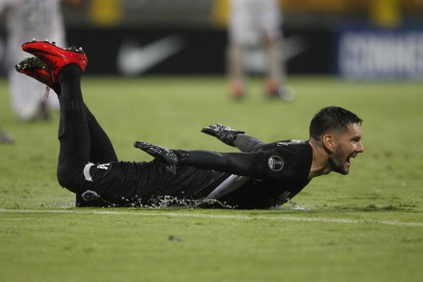 Ortiz, nacido en la localidad de Encarnación, debutó en el Quilmes de Argentina en 2010 y luego pasó por el Rubio Ñu, el Olimpia y el Sol de América, club en el que jugó en los últimos cinco años. EFE/Archivo