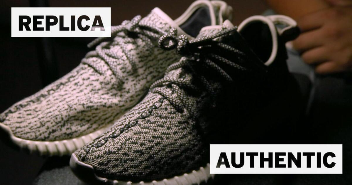 Counterfeit Yeezys and the booming sneaker black market - Los