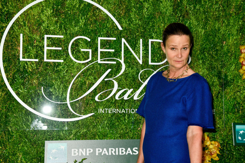 Pam Shriver attends the International Tennis Hall of Fame Legends Ball on Sept. 7, 2019, in New York.