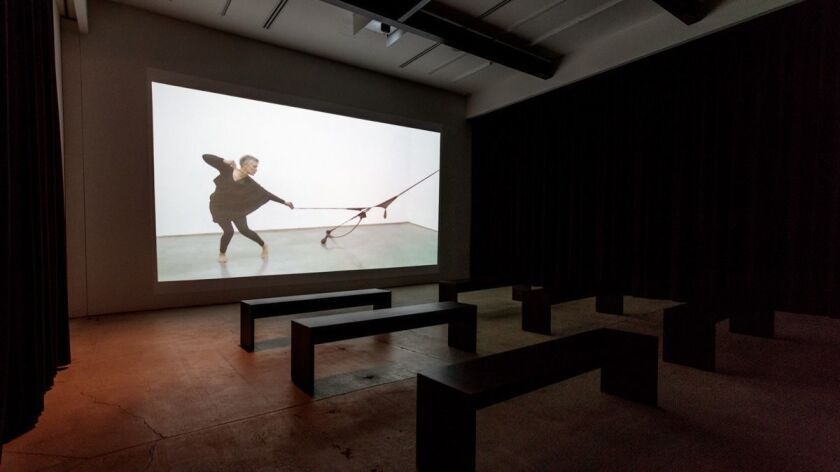 "Senga Nengudi, ""R.S.V.P. X activated by Maren Hassinger,"" 2014, digital video"
