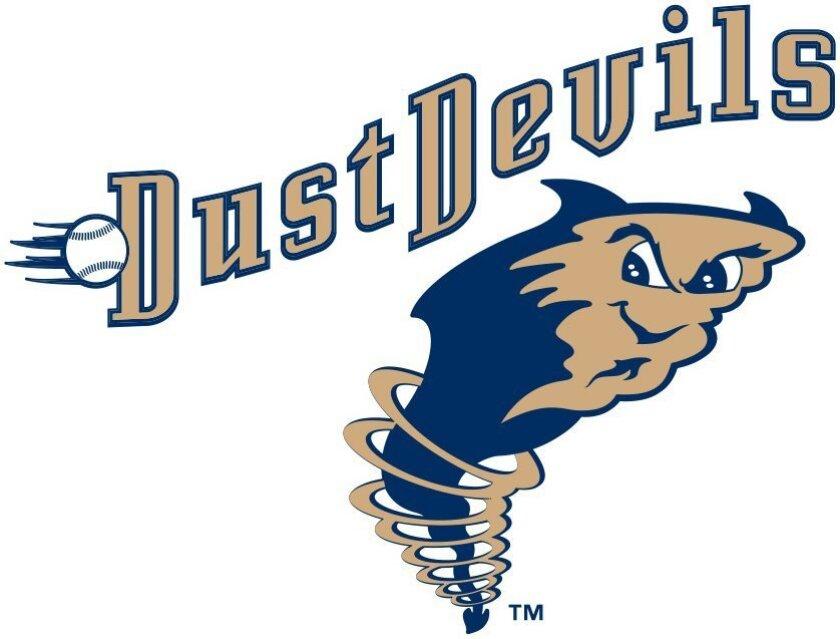 Short-season Tri-City Dust Devils Logo