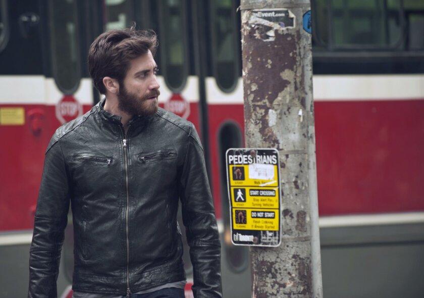 "Jake Gyllenhaal stars in ""Enemy."""