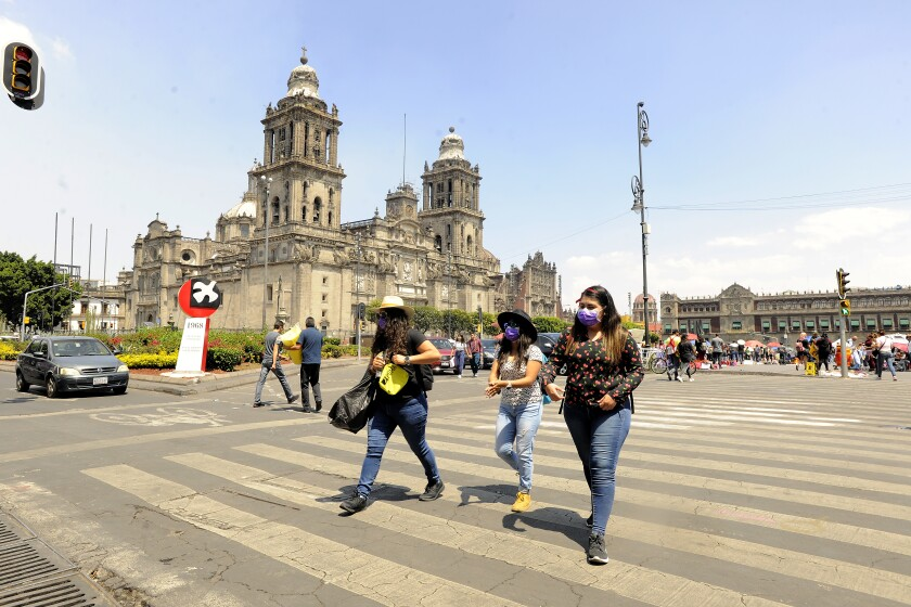 People Get Ready in Mexico City Due To Coronavirus Outbreak