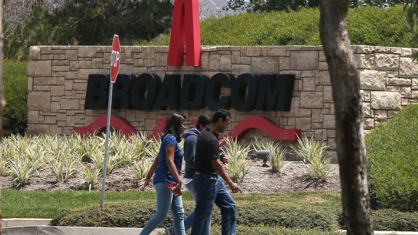 IRVINE, CA, THURSDAY, MAY 28, 2015 - Broadcom Corp. has agreed to be acquired by Avago Technologies