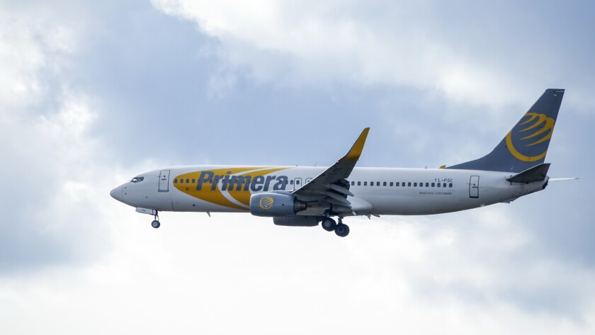 As of Oct. 1, Primera Air has ceased all operations and entered administration process.