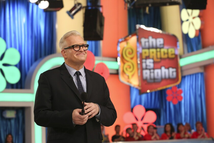 "Drew Carey hosts ""The Price Is Right."""