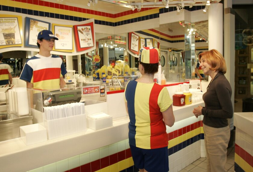 U-T File: Hot Dog on a Stick, based in Carlsbad, announced on Monday that it has filed for Chapter 11 bankruptcy protection.