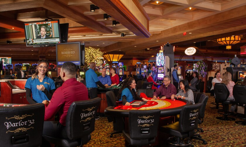 Barona Resort & Casino's high-limit room, Parlor '32.