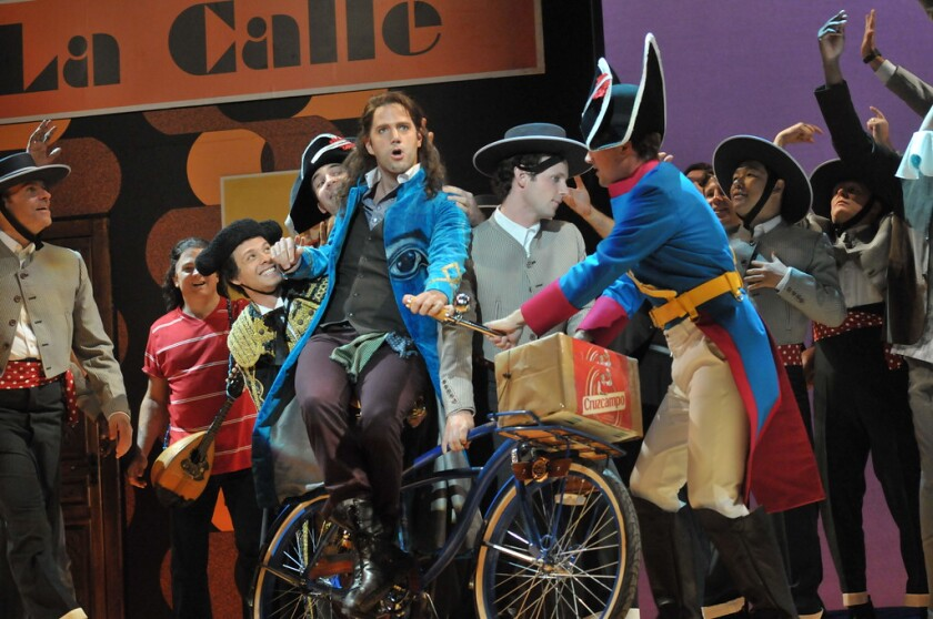 """San Diego Opera will present Gioachino Rossini's """"The Barber of Seville"""" in April-May 2021."""