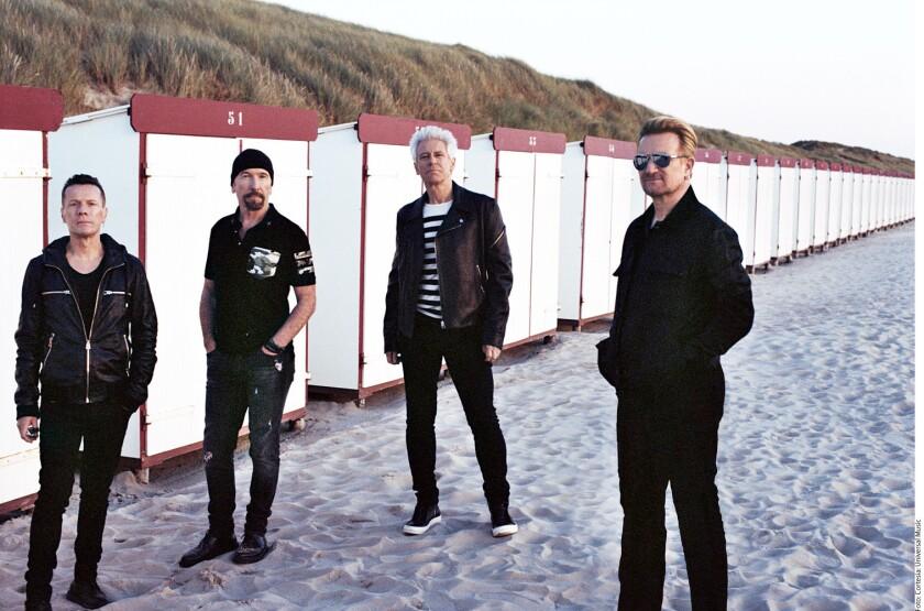 """A U2 le sedujo la idea de experimentar con el rap y el hip hop porque considera que es una manera de explorar universos que no conoce, tal como lo presenta en """"Get Out of Your Own Way"""", su sencillo con Kendrick Lamar."""