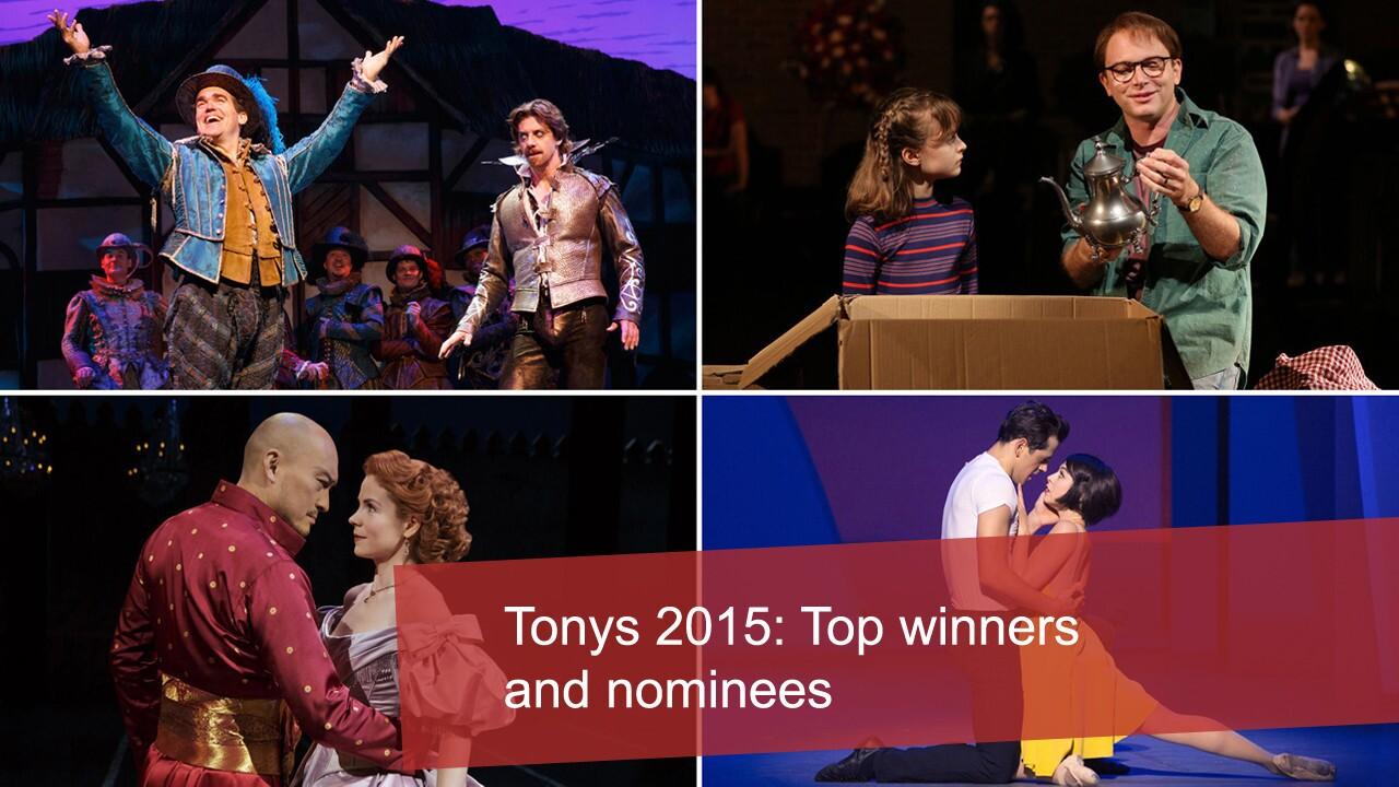 Tony Awards 2015: Top winners and nominees
