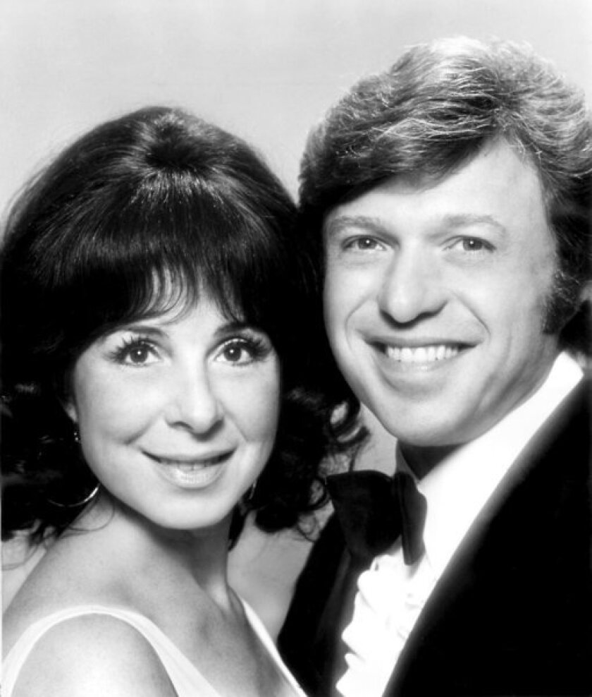 Eydie Gorme and Steve Lawrence in the early 1970s