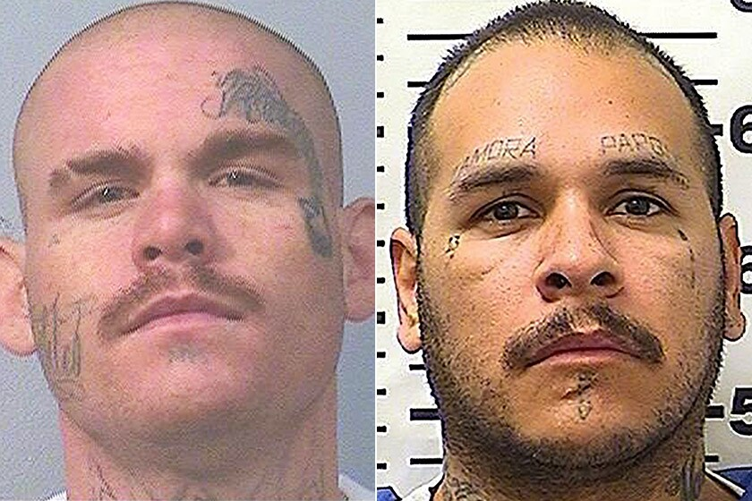 Inmates Cody Taylor and Anthony Rodriguez