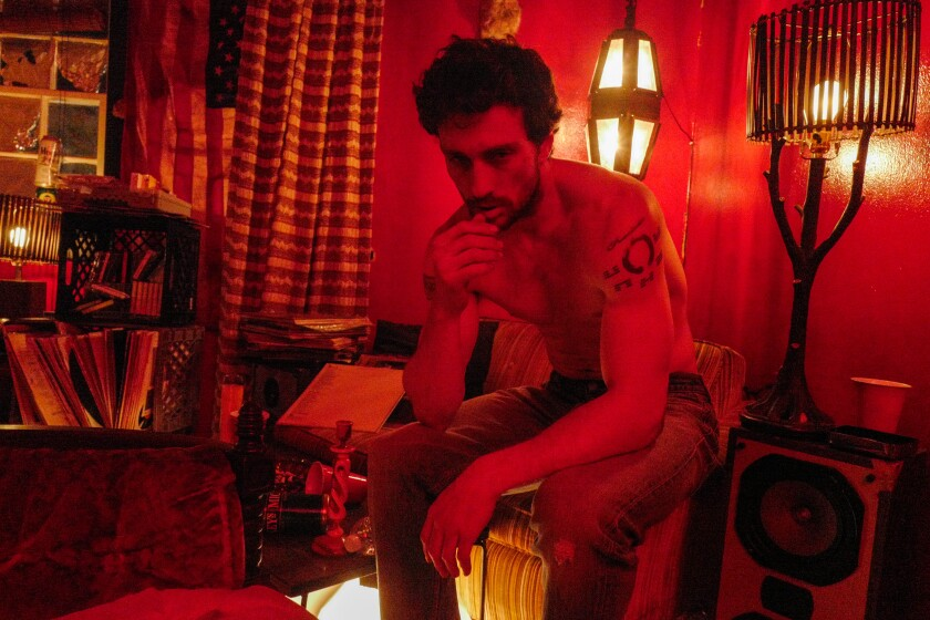 """Aaron Taylor-Johnson as James Frey in a scene from """"A Million Little Pieces."""""""
