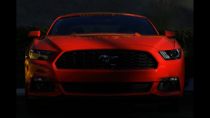Ford unveils sixth-generation Mustang for 50th anniversary