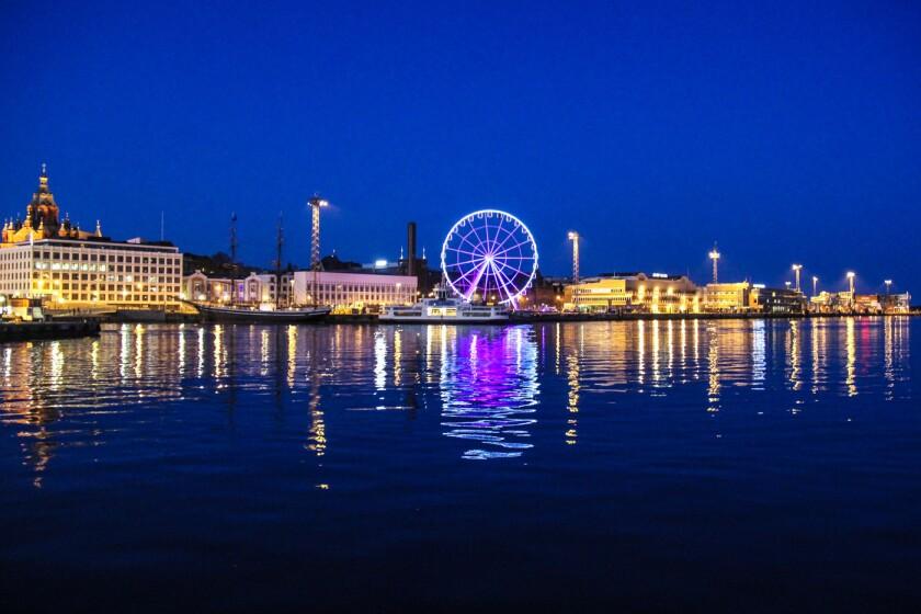 SkyWheel in Helsinki, Finland