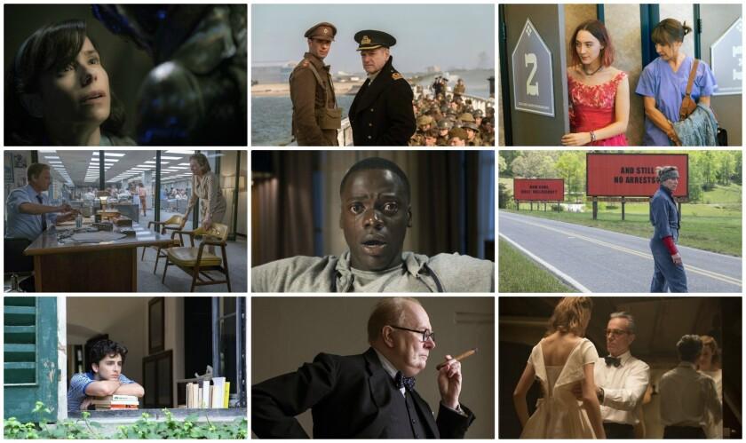 2018 top Oscar nominees