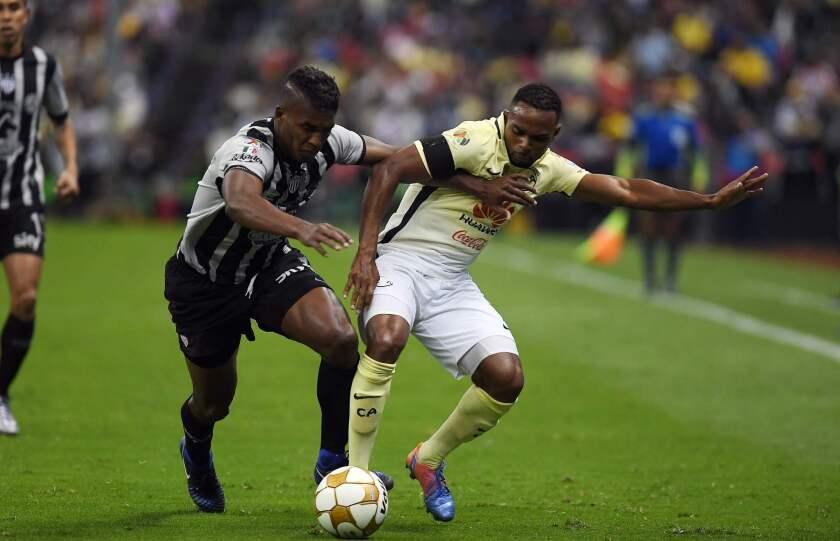 El Club América superó por 2-0 en la vuelta de las semifinales del Torneo Apertura 2016 al Necaxa en el estadio Azteca para concluir 3-1 en el global tras empatar a un tanto en el partido de ida.