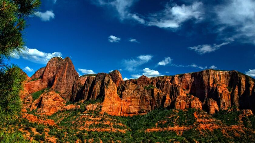 Kolob Canyon Afternoon