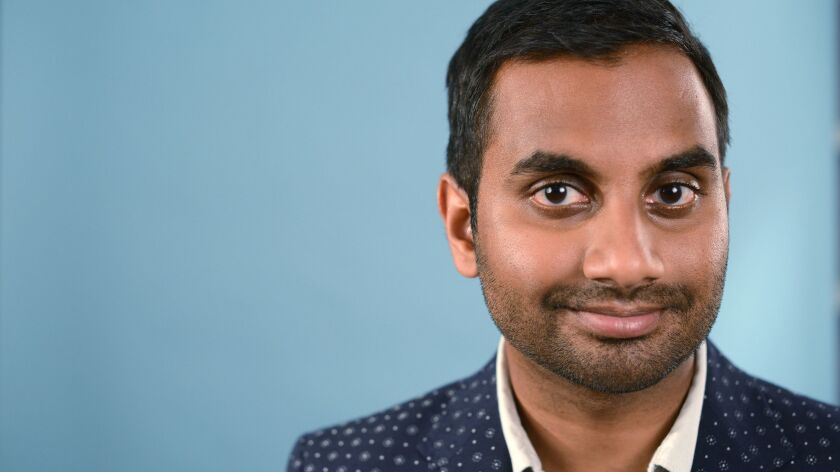 Actor-comedian Aziz Ansari finally addressed the misconduct allegation levied against him last year during a pop-up show in New York on Monday.