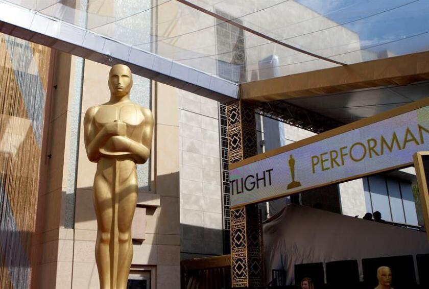 Vista de la estatua de los Premios Óscar. EFE/Archivo