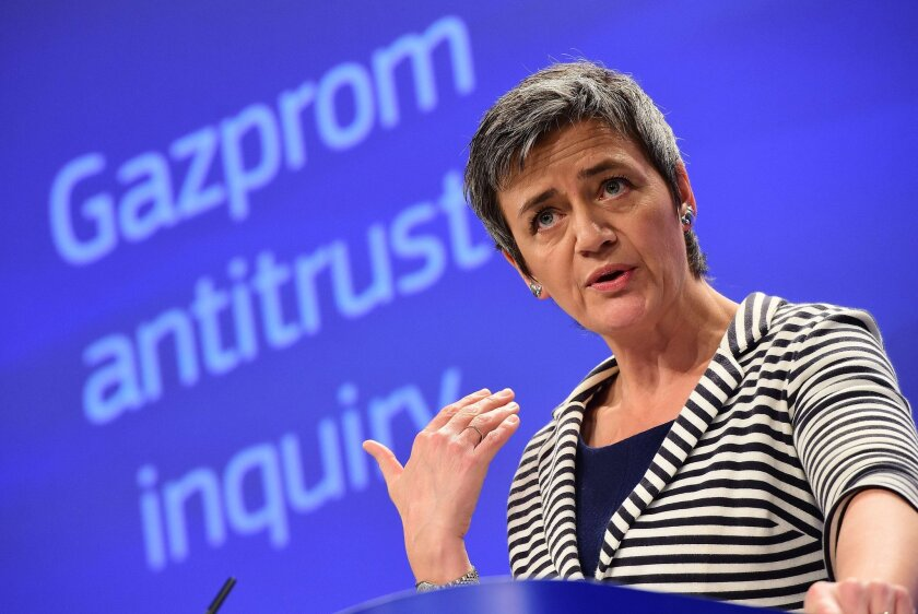 EU inquiry findings on Gazprom