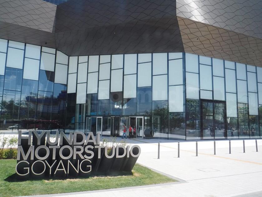 Hyundai Motor Studio.