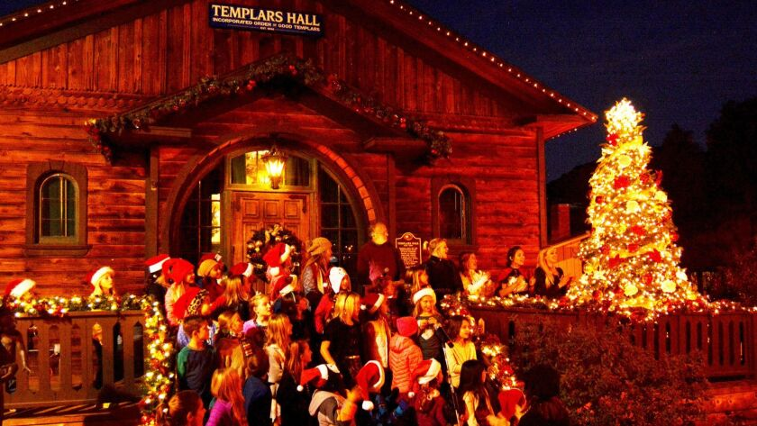Poway Christmas In The Park 2020 Christmas in the Park is Saturday   Poway News Chieftain