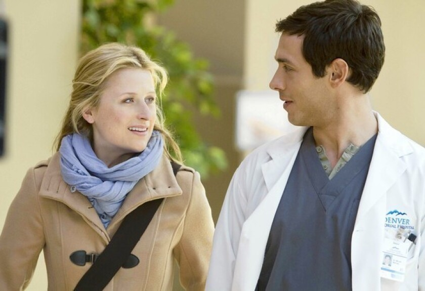"""Mamie Gummer and Michael Rady star in """"Emily Owens, M.D."""""""