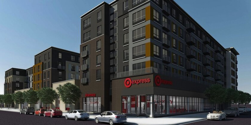 Target is testing small-format TargetExpress stores like this one in its hometown Minneapolis. It plans to open one in the old Gala Foods supermarket in South Park next July.
