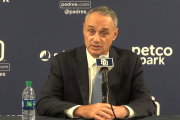 MLB Commissioner Rob Manfred discusses netting, ASG, pace of play and more