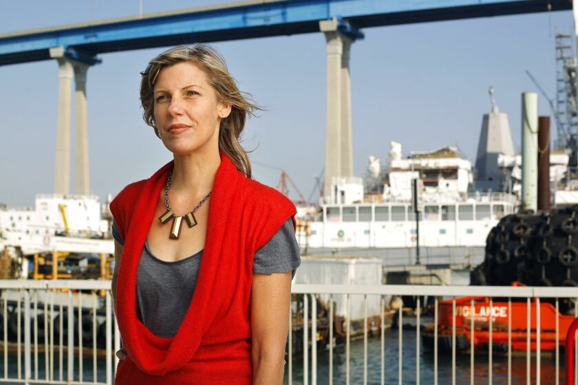 Margaret Noble is a San Diego-based visual artist who will stage a sound installation at the Cesar Chavez Park pier over two weekends in October.